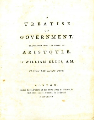 AristotleTreatiseOnGovernment1778.jpg