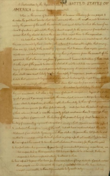 the declaration of independence by thomas jefferson essay Declaration of independence research paper august 29, 2013 writer research papers 0 united states declaration of independence the declaration of independence was written largely by thomas jefferson, america's future third president.