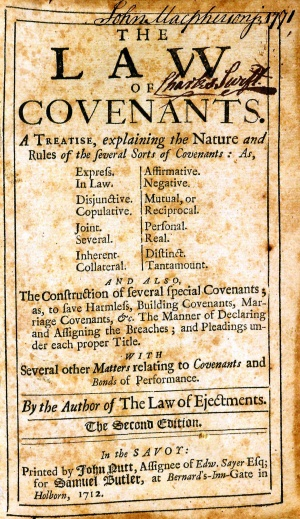 LawOfCovenants1712TitlePage.jpg
