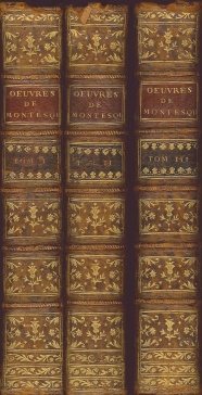 The Works of Montesquieu