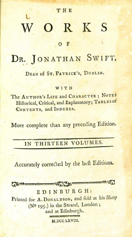 the life of jonathan swift essay He sarcastically wrote how the impoverished irish could enhance their life by using jonathan swift : a positive irish influence com/essay/jonathan-swift.